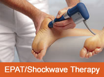 EPAT Shockwave Heel Therapy